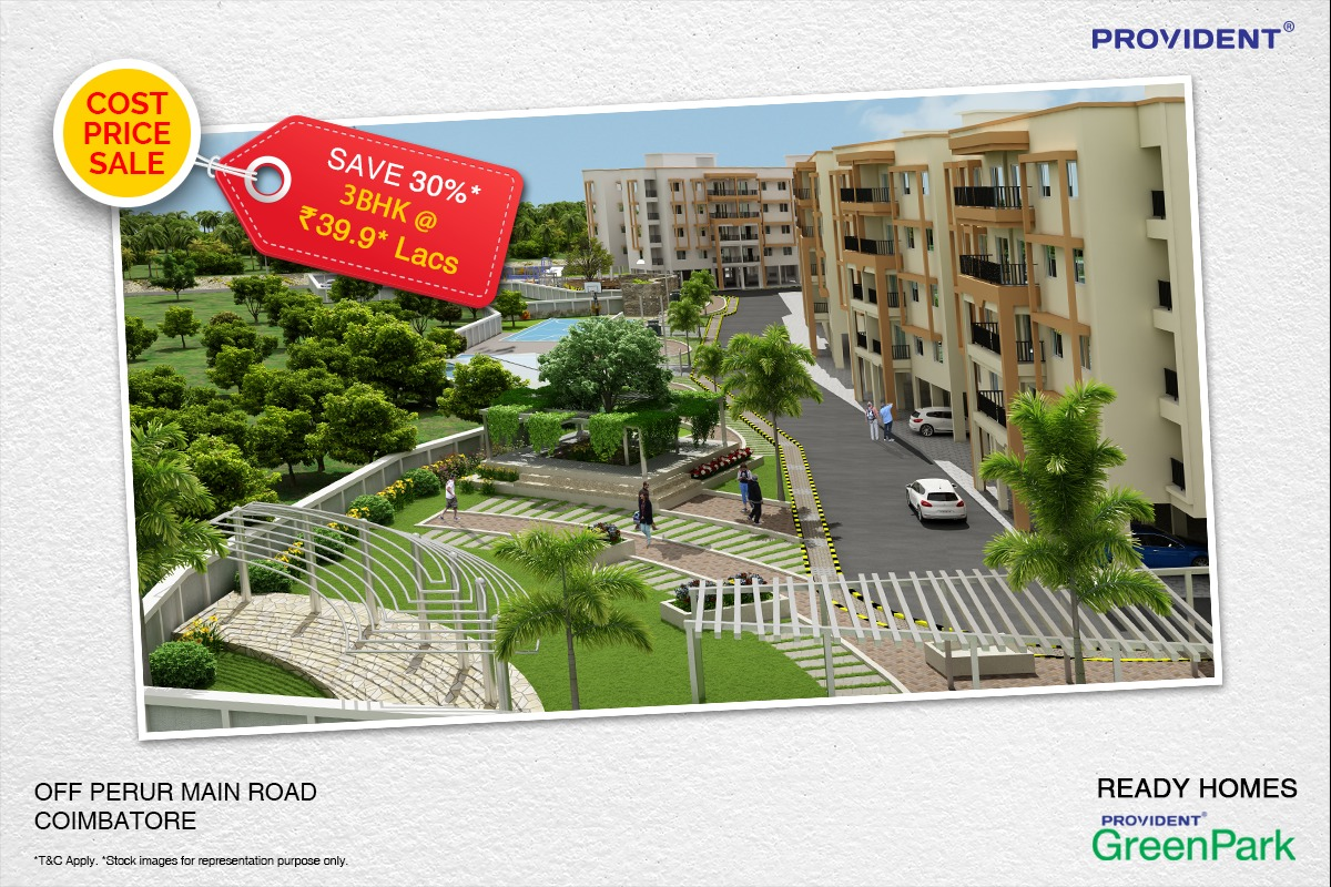 Provident Green Park – A Green Haven in Coimbatore
